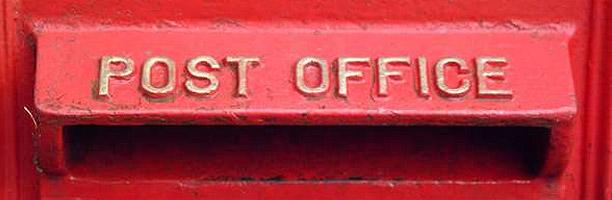 Chodíte na poštu