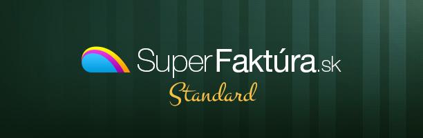 Štandardný balík služieb v SuperFaktúre